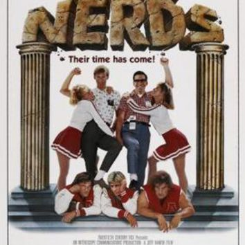 Revenge Of The Nerds Movie Poster Standup 4inx6in