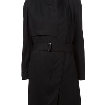 Helmut Lang turtleneck trench coat