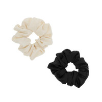 Black And White Scrunchie Pack - Jewelry - Accessories