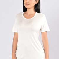 Just Sunshine Tee - Ivory