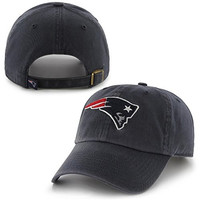 47 Brand. NFL New England Patriots Women's Cleanup Cap Current Logo - Navy