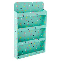 Jane Beauty Collection, Wall Mount Nail Polish Organizer, Pool Confetti Dots