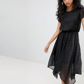 Only Sylvia Hanky Hem Dress at asos.com