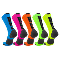 TCK® Baseline 3.0 Elite, Neon Colors, Basketball Football Lacrosse, Crew Socks,  proDRI