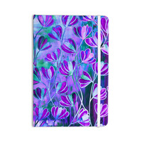 "Ebi Emporium ""Efflorescence - Lavender Blue"" Teal Purple Everything Notebook"