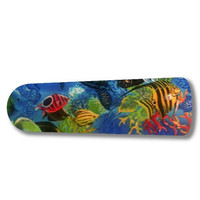"Tropical Fish Coral Reef 42"" Ceiling Fan BLADES ONLY"