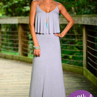 The Florence Maxi, Grey