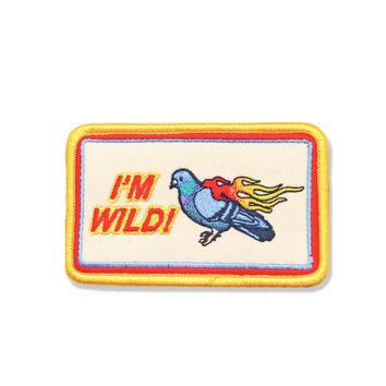 I'm Wild Iron-On Patch