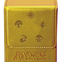 Ultra Pro Magic the Gathering Gold Mana Flip Box