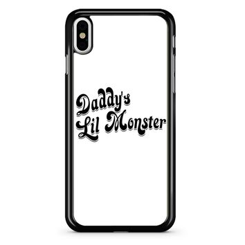 Harley Quinn - Daddy S Lil Monster iPhone X Case