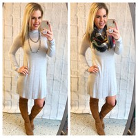 More than You Know Dress: Grey