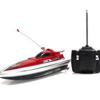 Kids Authority Radio Control High Speed Boat up to 3.6km/h (Color may vary)