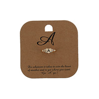 A. Initial Ring - Jewelry - Bags & Accessories - Topshop USA