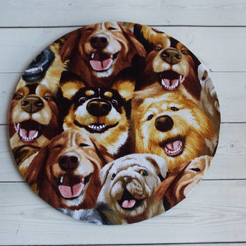 dogs mousepad / Mouse Pad / Mat round or rectangle -  dog mousepad dogs mouse pad - big dog selfies