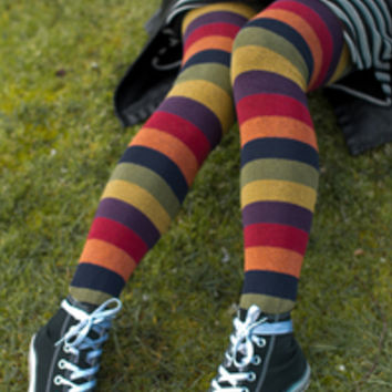Sock Dreams - Oops! Longer Harvest Rainbows