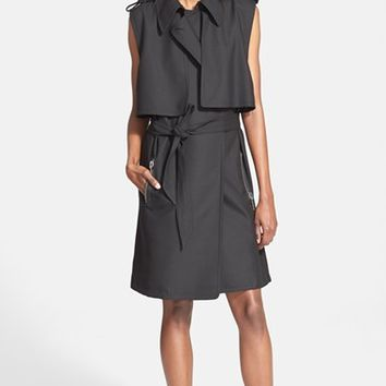 Women's Tracy Reese Sleeveless Stretch Cady Trench Coat,
