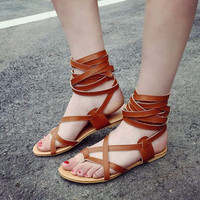 Classic Design Gladiator Sandals