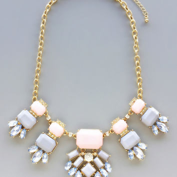 Roses & Champagne Necklace