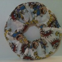 Rugrats Hair Fabric Scrunchie Ponytail Holder