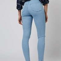 MOTO Bleach Rip Joni Jeans - Jeans - Clothing