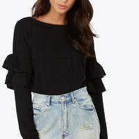 Double Ruffle Top