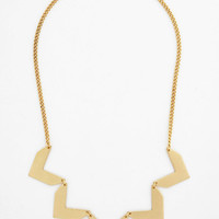 ModCloth Urban You Make a Good Point Necklace
