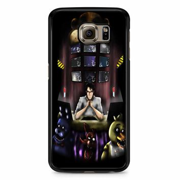 Five Nights At Freddy S 4 Wallpaper Samsung Galaxy S6 Edge Plus Case