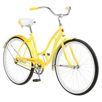 "Schwinn Women's Legacy 26"" Cruiser Bike- Yellow"
