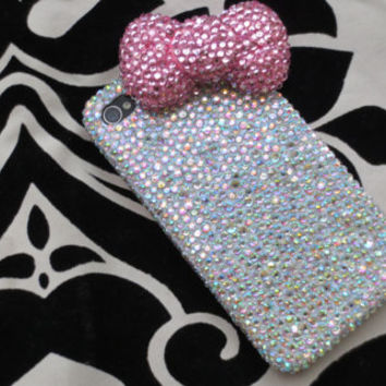 "The ""Kattylac"" Diamond Phone Case"