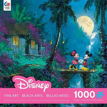 Disney Fine Art - Moonlight Proposal - 1000 Piece Jigsaw Puzzle