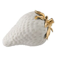 Porcelain strawberry with gold detail - $50.00 : Far4, Shopping Reimagined