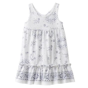 Chaps Floral Dress - Girls