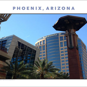 Phoenix, Arizona Photo Wall Art #1057