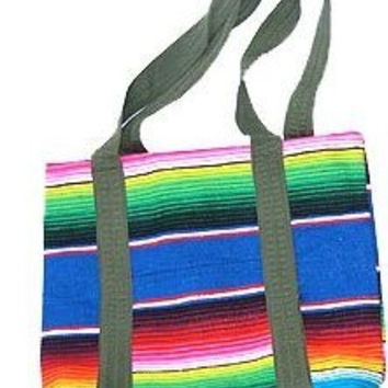 Oaxaca Serape Shopping Bag