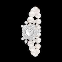 Watch in 18k white gold and diamonds - J60938 - CHANEL