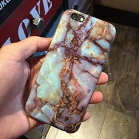 "Hot Sale New Fashion Phone Cases for Apple iPhone6 6S 4.7"" Case Marble stone Texture Painted Luxury Back Cover For iphone 6 Case"