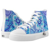 doodling art High-Top sneakers
