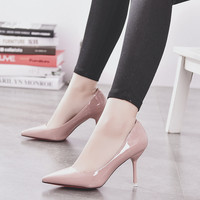 2017 Women Pointed Toe High Heel Shoes [10761025999]