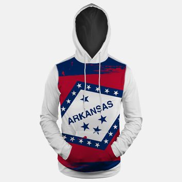 Arkansas State Flag Hoodie (Ships in 2 Weeks)