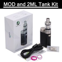 Mini 75W Box Vape Electronic Mod Cigarettes 2ML Melo III Mini 4ML Melo Tank Kit