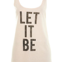 Let It Be Scoop Vest