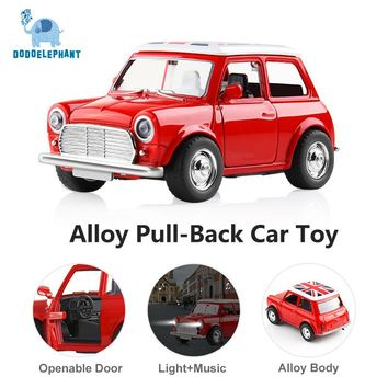 Small Pull Back Diecast Model Toy Cars