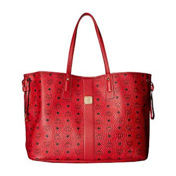 MCM Reversible Liz Large Shopper in Visetos