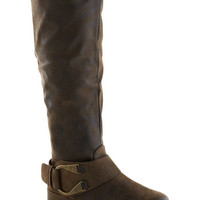 ModCloth Rustic Brownstone Bash Boot