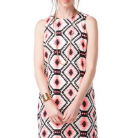 CUPERTINO PRINTED DRESS