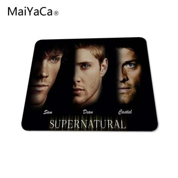 MaiYaCa Supernatural New Season Cool Poster Top Quality Large Custom Mousepad Rubber Rectangle 3d aming Mouse Pad Mat
