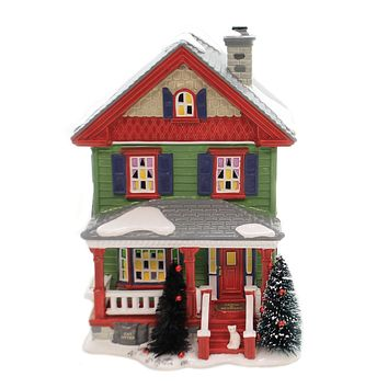 Department 56 House AUNT BETHANY'S HOUSE Snow Village Christmas Vacation 6003132