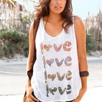 Bralette Beach Stylish Comfortable Sexy Hot Women's Fashion Summer Alphabet Print Sleeveless Vest [7767264199]