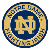 Notre Dame Fighting Irish NCAA Rounded Floor Mat (29in)