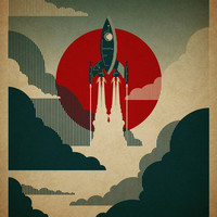 The Voyage Art Print by Danny Haas